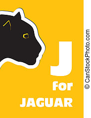 J for the Jaguar, an animal alphabe
