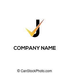 j initial logo company