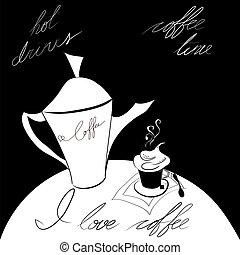 J love coffee
