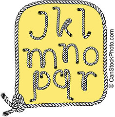 j, typographie, r