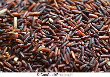 jaśmin, (rice, czarnoskóry, thai, ryż, berry)