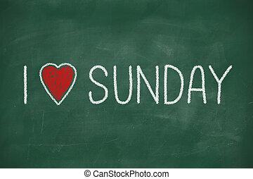 ja, miłość, niedziela