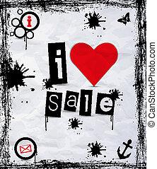 ja, miłość, sprzedaż