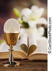ja, miłość, zakon, dla, chrześcijaństwo, tło