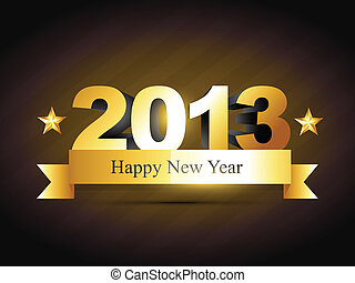 jaarwisseling, ontwerp, creatief, vrolijke