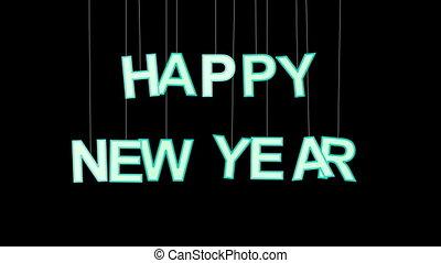 jaarwisseling, vrolijke , viering, luma