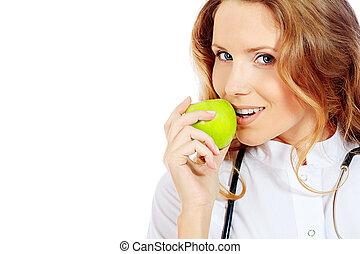 jabłko, dojrzały