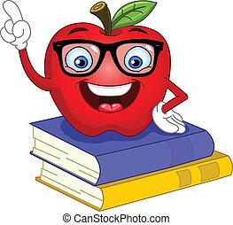 jabłko, mądry