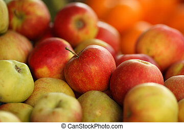 jablko, grafické pozadí