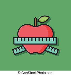 jablko, ikona