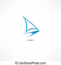 jacht, ikon