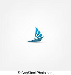 jacht, pictogram