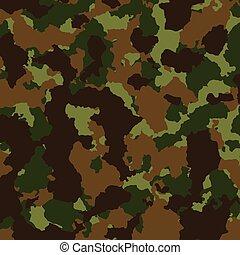 jacht, textuur, camouflage, achtergrond, militair, of