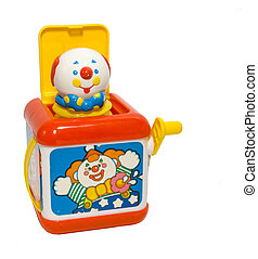 A colorful childs toy