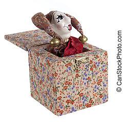 jack-in-the-box, brinquedo
