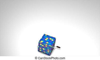 Jack in the box Happy birthday