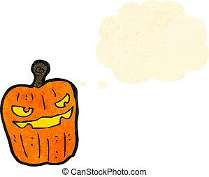 jack o lantern cartoon