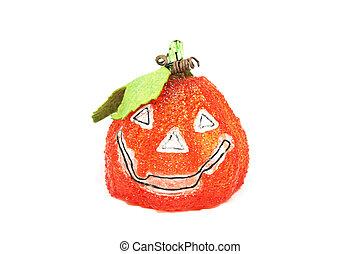 Jack-o-lantern for Halloween isolated