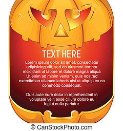 Jack O Lantern Halloween Pumpkin with Candle Light - Jack O ...