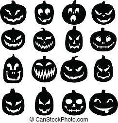 Jack O Lantern Icons