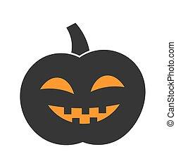 Jack o lantern - Jack 'o lantern Halloween pumpkin. Vector ...
