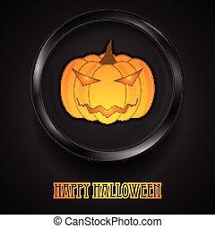 Jack-O-Lantern pumpkin Halloween monster