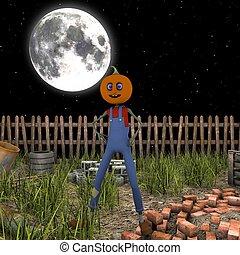 jack-o, -lantern
