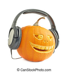 Jack-o'-lanterns halloween pumpkin head