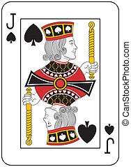 Jack of Spades. Original design