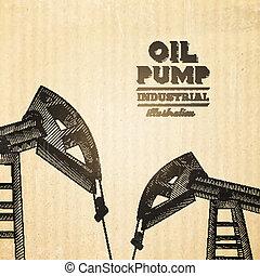 jack., pumpa, olaj