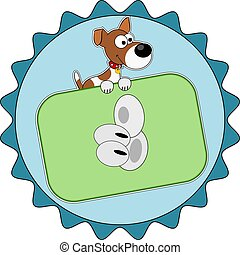 Jack Russell Terrier with thumb up icon