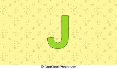 Jackal. English ZOO Alphabet - letter J - Animated English...