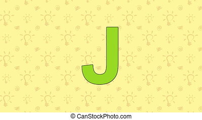 Jackal. English ZOO Alphabet - letter J - Animated English...