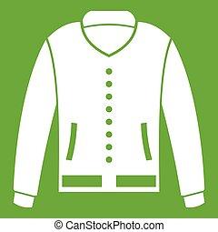 Jacket icon green