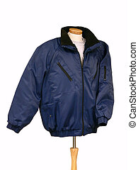 Jacket. - Jacket over white, clipping path included.