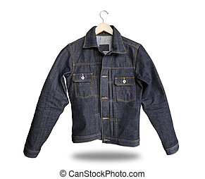 jacket jeans isolated