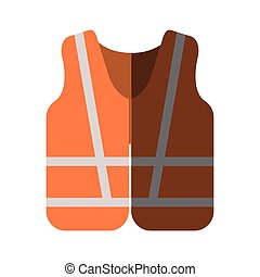 Jacket of industrial security design