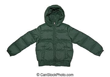 Jacket - Winter jacket isolated on the white background