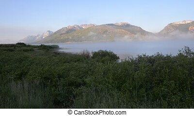Jackson Lake Wyoming Raw Video