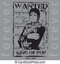 Jackson, singer, dancer, tribute, music, musician, king, pop, hero, fan, song, title, album, child, silhouette, character,