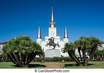Saint Louis Cathedral - Jackson Square and Saint Louis ...