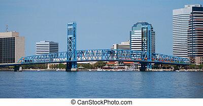 Jacksonville Florida Skyline