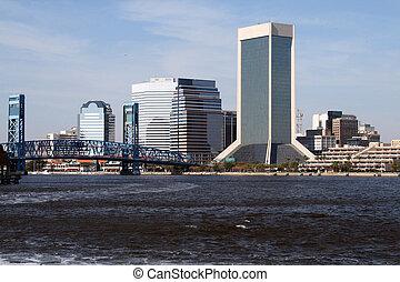 Jacksonville Florida Skyline - Jacksonville, Florida skyline...