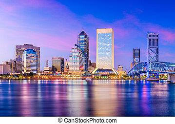 Jacksonville, Florida, USA Skyline