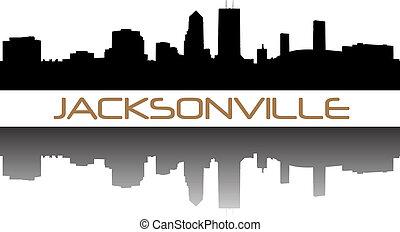 Jacksonville high-rise buildings skyline