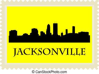 Jacksonville stamp