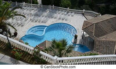 jacuzzi, piscine, natation