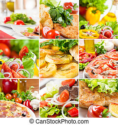 jadło, collage, europejczyk