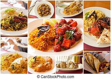 jadło, collage, indianin