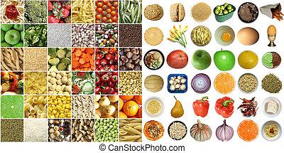 jadło, collage
